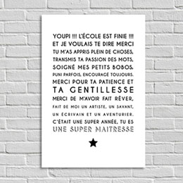 Poster Tirage Photo Souvenir Instit