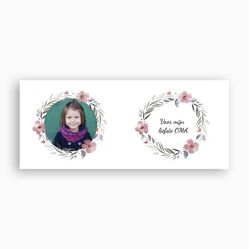 Gepersonaliseerde Fotomokken Roze & Bloemblaadjes pas cher