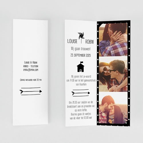 Creatieve trouwkaarten - Magic Love 51890 thumb