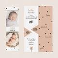 Geboortekaartjes Meisje Sweet Origami gratuit