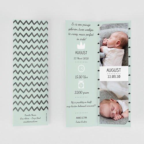 Geboortekaartje jongen - Little King 51977 thumb