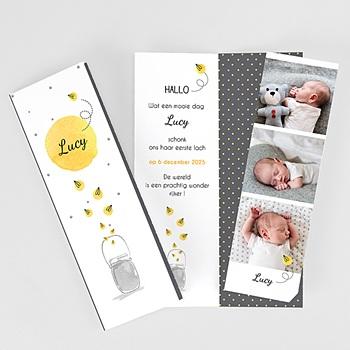 Geboortekaartjes met foto - Lucy - 0