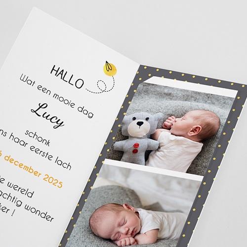 Geboortekaartjes met foto Lucy pas cher