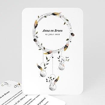 Personaliseerbare trouwkaarten - Dromenvanger - 0