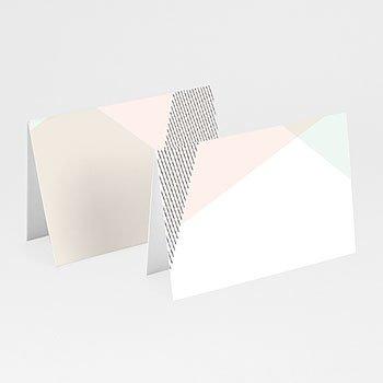 Tafelkaartjes huwelijk - Modieuze Uitnodiging - 0