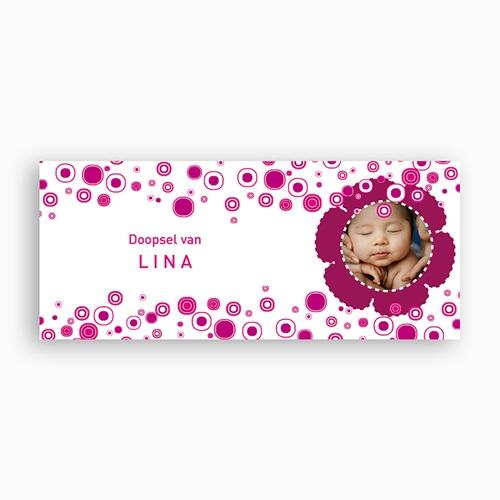 Personaliseerbare mokken Roze retro doop pas cher