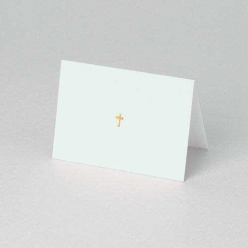 Tafelkaartjes Communie Licht groene communie, zoon pas cher