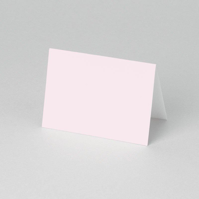 Plaatskaartjes Communie - Roze om de hoek 52836 thumb