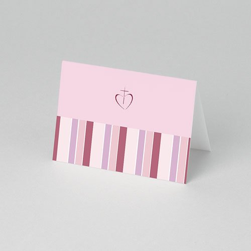 Plaatskaartjes Communie - Snoeproze communie 52839 thumb