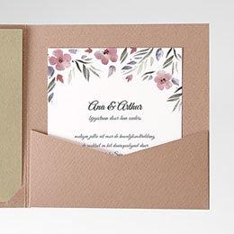 Cartes d'invitations Heerlijk romantisch