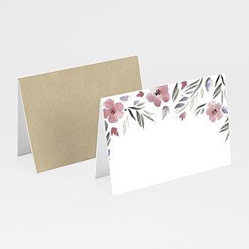 Tafelkaartjes huwelijk - Heerlijk romantisch - 0