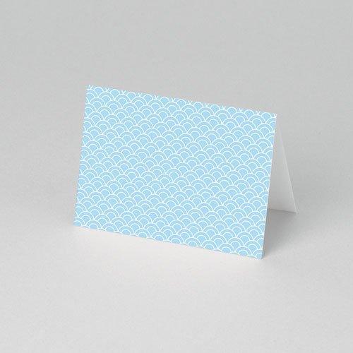 Plaatskaartjes Communie - Communieviering lichtblauw 52957 thumb