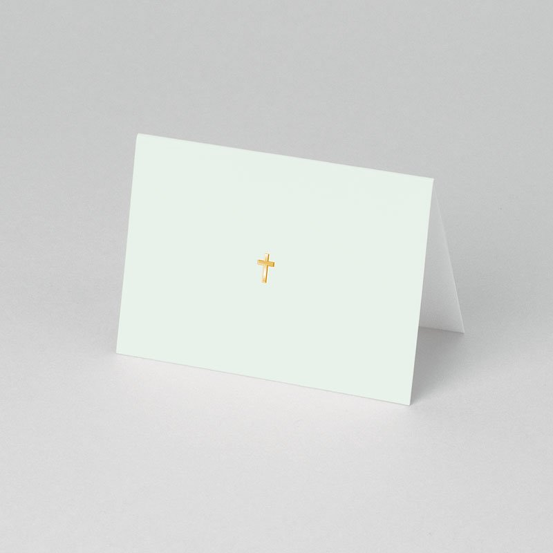 Plaatskaartjes Communie - Licht groene communie 52967 thumb