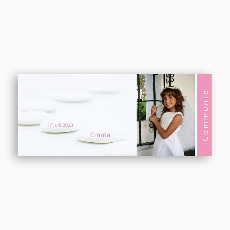 Gepersonaliseerde Fotomokken Bruidsuikers roze pas cher