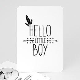Aankondiging Geboorte Indian Boy