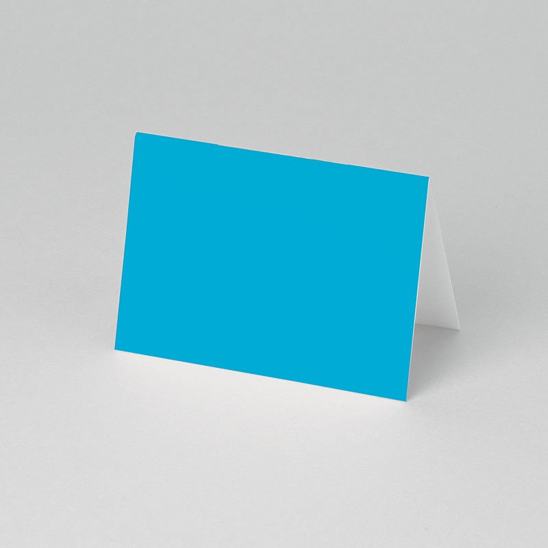 Tafelkaartjes Communie Paisley blauw pas cher