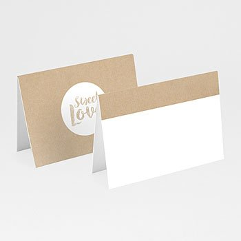 Tafelkaartjes huwelijk - Sweet Love - 0