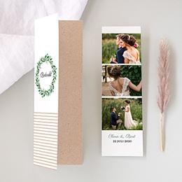 Bedankkaarten huwelijk - Floral charm - 0