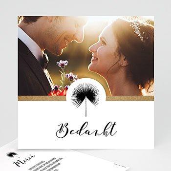 Bedankkaarten huwelijk - Love is Life - 0