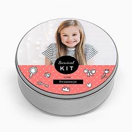 Personaliseerbare blikken doosjes - Kit voor Princesje - 0