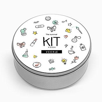 Personaliseerbare blikken doosjes - Teacher Emergency Kit - 0