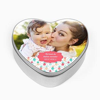 Personaliseerbare blikken doosjes - Sweet Moeder - 0