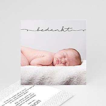 Bedankkaartje geboorte zoon - Inspiratie - 0