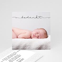 Bedankkaartjes Geboorte Inspiratie