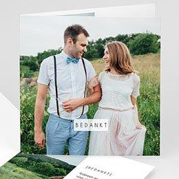 Bedankkaarten huwelijk - So nice - 0