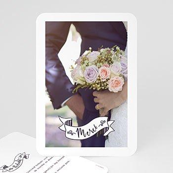 Bedankkaartjes huwelijk - Vintage Thanks - 0