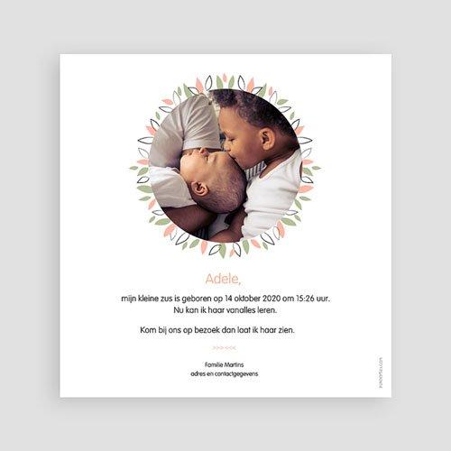 Geboortekaartje meisje - Koala roze 53840 preview