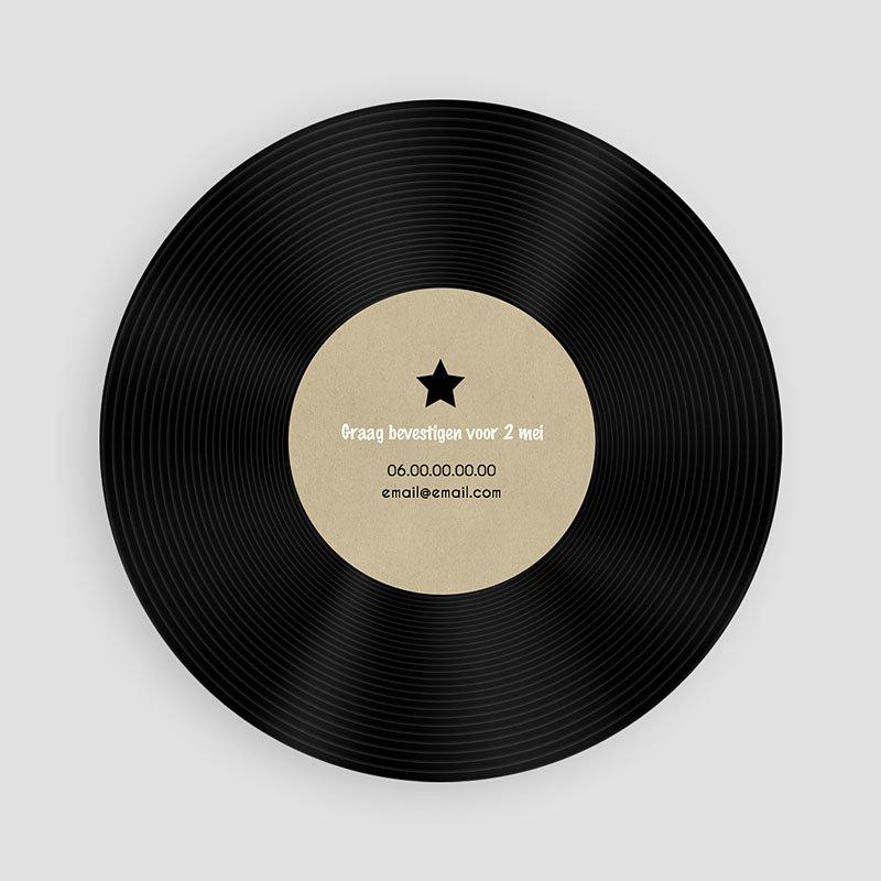 Verjaardagskaarten volwassenen - Vinyl Lp 53867 thumb