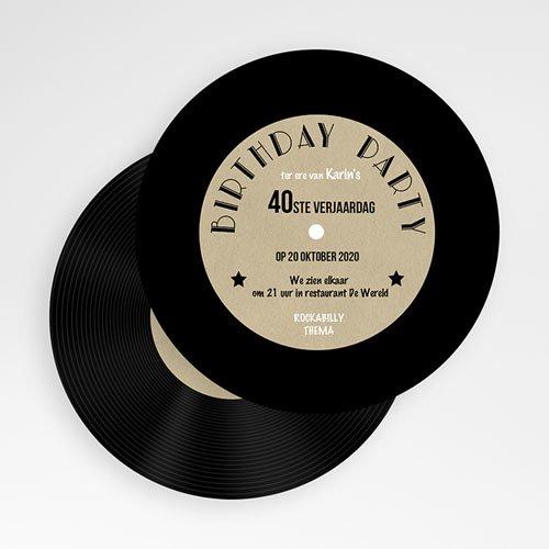 Verjaardagskaarten volwassenen - Vinyl Lp 53868 thumb