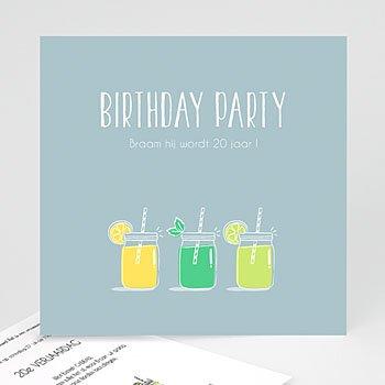 Verjaardagskaarten volwassenen - Summer Limonade Party - 0
