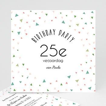 Verjaardagskaarten volwassenen - 25e verjaardag - 0