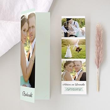 Bedankkaartjes huwelijk - Romance - 0