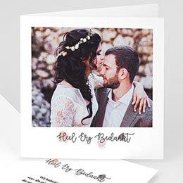 Bedankkaartjes huwelijk - Top bedankt - 0