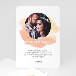 Bedankkaartjes huwelijk - Enorm bedankt - 0