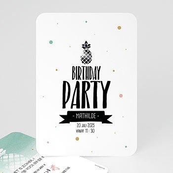 Verjaardagskaarten volwassenen - Zomerfeestje - 0