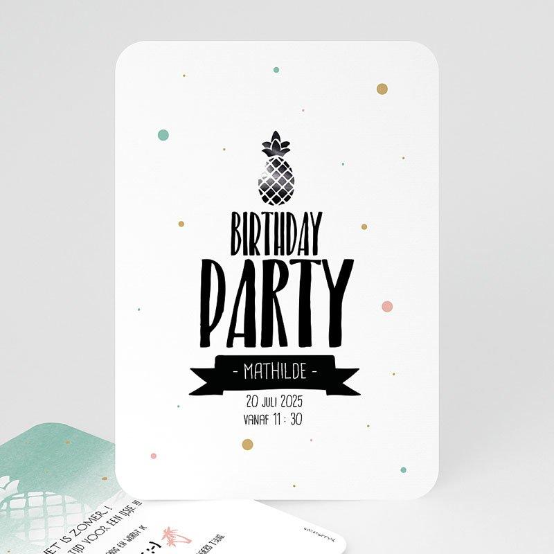 Verjaardagskaarten volwassenen Zomerfeestje