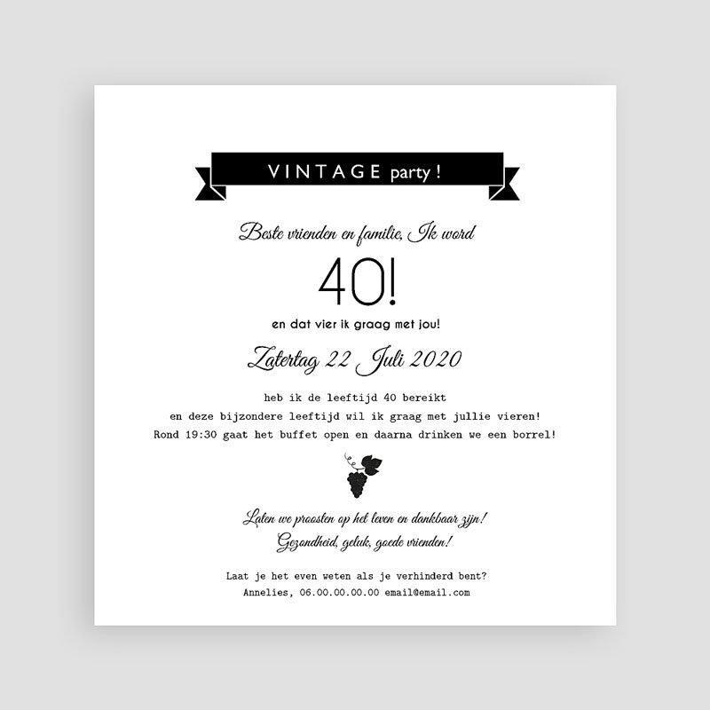 Verjaardagskaarten volwassenen - Special Blend 54186 thumb