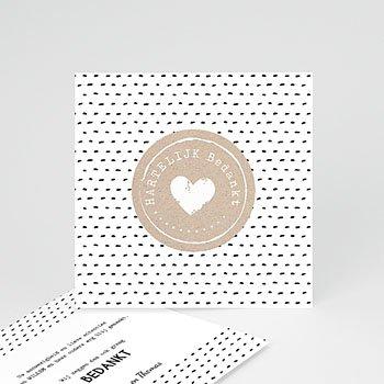 Bedankkaartje geboorte zoon - Met Liefde gemaakt - 0