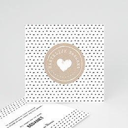 Bedankkaartjes Geboorte Met Liefde gemaakt