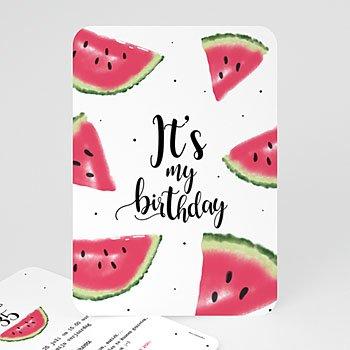 Verjaardagskaarten volwassenen - Watermeloen - 0