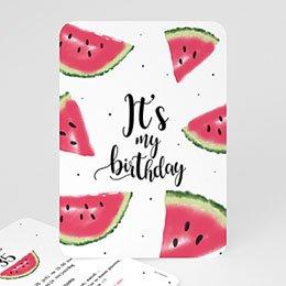 Uitnodiging Anniversaire adulte Watermeloen