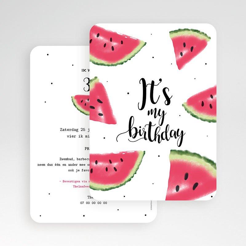 Verjaardagskaarten volwassenen - Watermeloen 54211 thumb