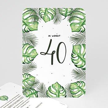 Verjaardagskaarten volwassenen - Paradijs eiland - 0