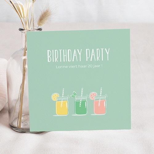 Verjaardagskaarten volwassenen - Summer Cocktail Party 54272 thumb