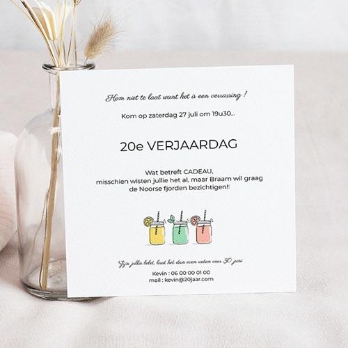 Verjaardagskaarten volwassenen - Summer Cocktail Party 54273 thumb