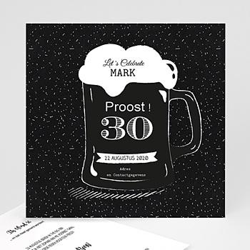 Verjaardagskaarten volwassenen - Bierglas - 0